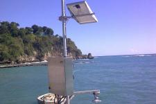 Sea Level Station installed by IOC in December 2013 in Jacmel, Haiti