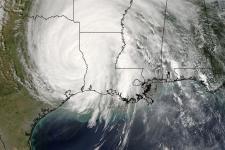 Imagen del Huracán Rita capturada por el satélite Terra  / Fuente: NASA