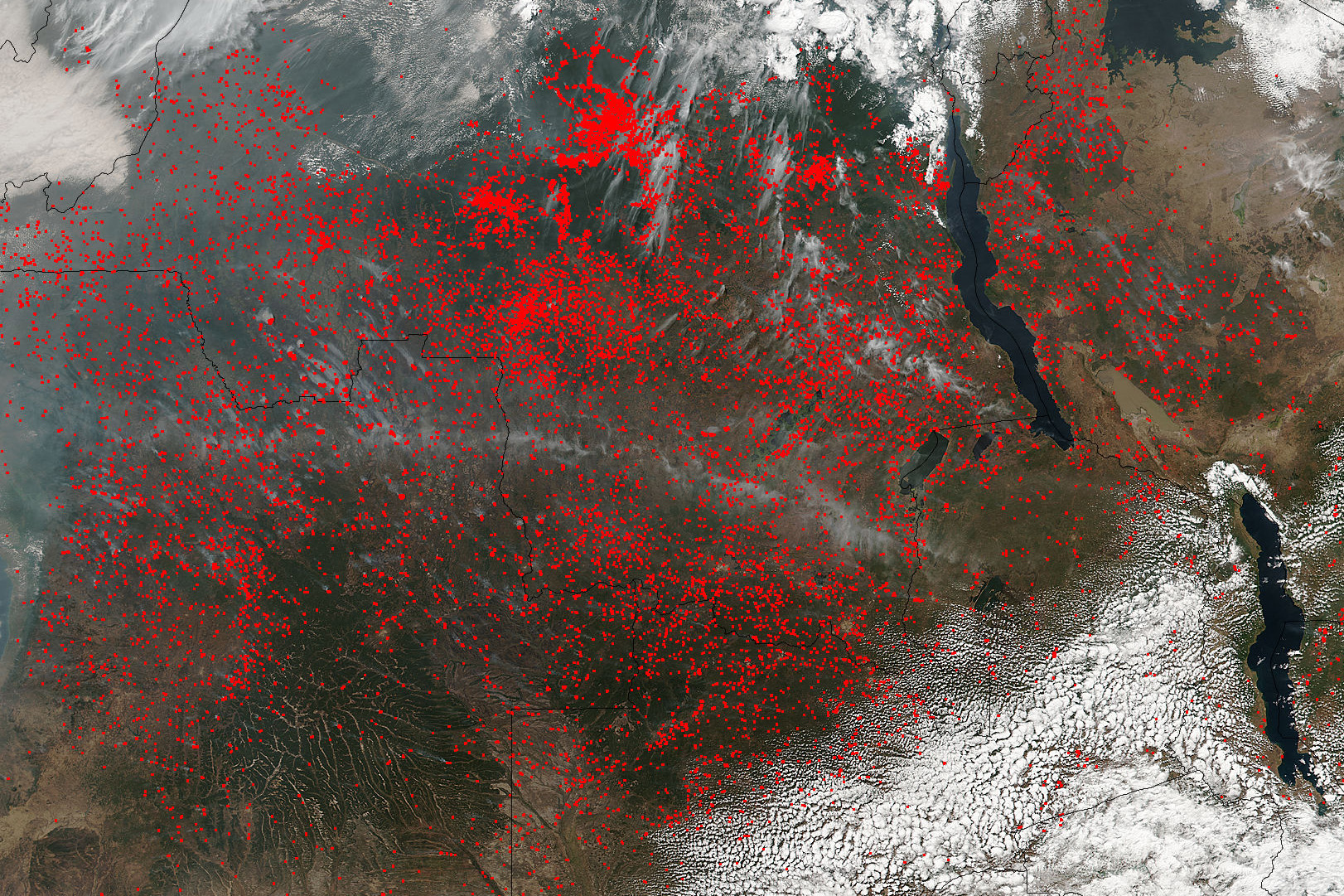 NASA's Suomi NPP satellite detected