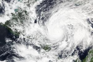 Hurricane Eta on 2 November 2020. Image: NASA WorldView.