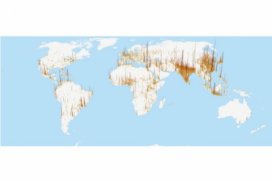 Global Population Map