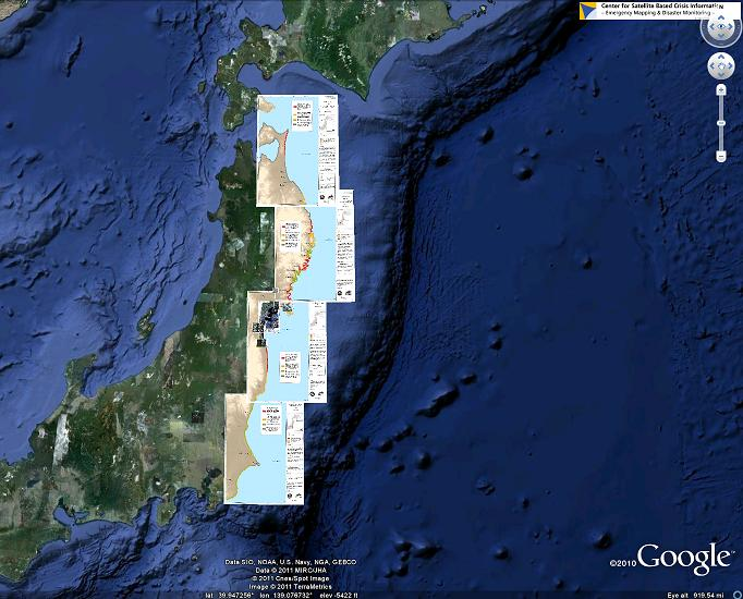 Earthquake In Japan UNSPIDER Knowledge Portal - Japan map center