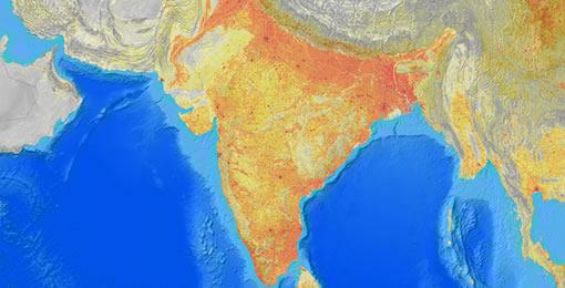 Landscan Distribution Data Set