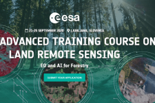 10th Advanced Training Course On Land Remote Sensing logo. Image:ESA