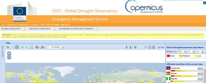Screenshot of GDO