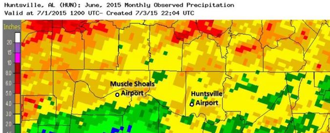 Screenshot of Edit Daily rainfall estimates (NOAA-CPC)