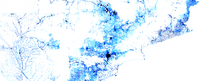 Population Density Map. Image: Facebook Connectivity