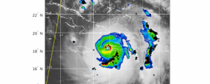 Screenshot of World Wide Lightning Location Network Tropical Cyclones (WWLLN-TC)