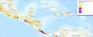 Screenshot of Global Landslide Hazard Distribution