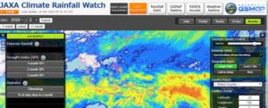 JAXA Climate Rainfall Watch. Image: JAXA