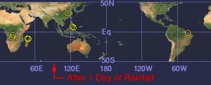 Screenshot of Landslide Hazard Assessment (NASA-TRMM)