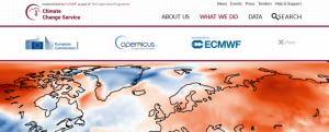Screenshot of Land Surface Temperature