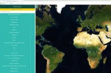 Screenshot of the Collect Earth Online tool.