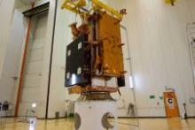 Sentinel-1B. Image: ESA–Manuel Pedoussaut.