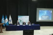 Panel at UN-SPIDER/CONCYT seminar.