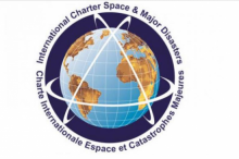 "Logo of the International Charter ""Space and Major Disasters"""