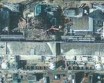 GeoEye satellite image showing the Fukushima Daiichi Nuclear Power Plant
