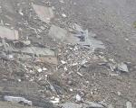 Devastation caused by an earthquake in Pakistan in 2005.