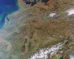 Central Europe seen from space