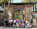 Workshop participants during cultural visit in Tehran.