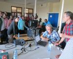 "Participants of the UN-SPIDER training course ""Disaster Mapping"""