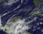 GOES-13 satellite captured this image of clouds over the Caribbean