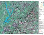 Flood delineation map for Gloucester, UK, created by Copernicus in February 2014