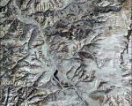 China's Great Wall seen from Space
