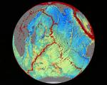 Marine gravity model of the Central Indian Ocean