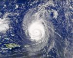 Hurricane Fabian over Bermuda in 2003