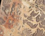 Jordan seen from space