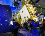 Glonass-K satellite at CeBIT 2011