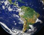 NASA's Goddard Space Flight Center's image of Latin America