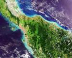 Satellite image of Malaysia captured on 05/05/2006