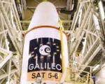 Fifth and sixth Galileo satellites before being launched on 19 August 2014.