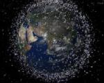 Space debris in low Earth orbit