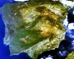 Iberian Peninsula satellite image (Image: ESA)