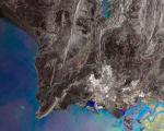 Satallite image of the city of Karachi (Pakistan) on the Arabian Sea (Image: ESA)