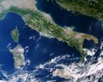 This cropped image of Italy was captured by Sentinel-3A on 28 September 2016. As the colours in this image suggest, the camera can be used to monitor ocean ecosystems and vegetation on land which brings significant benefits to society through more informed decision-making. Image: ESA.
