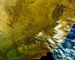 Image of South Africa acquired on 19 June 2010 by ESA's Envisat satellite. Image: ESA, CC BY-SA 3.0 IGO.