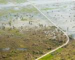 Areas flooded and damaged following cyclone Idai, northwest of Beira. Image: European Union/Christian Jepsen.
