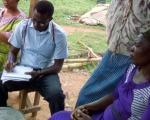 Field Work on Ogunpa flood plain Ibadan, Nigeria. Image: GMES.