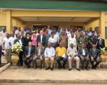 Participants of the UN-SPIDER Technical Advisory Mission to Ghana