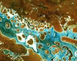 Sentinel-2A captured Lake Amadeus in Australia's Northern Territory