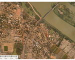 An image of Niamey from a drone. Image: Drone Africa Services.