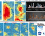 Accumulated rainfall September 2014 and 2015; and Rainfall events from 21 – 30 Sept