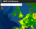 Screenshot of the SMAP tool in action. Image: NASA