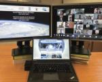 Participants at the virtual expert meeting. Image: UNOOSA.