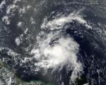 Heavy rainfall and towering thunderstorms brought by Tropical Storm Chantal