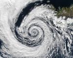 Cyclone Roanu batters India and Bangladesh. Image courtesy of Jacques Descloitres, MODIS Rapid Response Team, NASA/GSFC